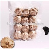 certified organic 5.5cm black garlic ( many petals ) in 500g vaccum bag