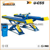 LARGE PLATFORM SCISSOR CAR LIFT FOUR WHEEL ALIGNMENT