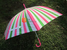 Stripe Straight Umbrella-Jhds0060