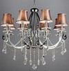 2012 Lamp Home Decoration-H042 Pendant Lamp With Shade Crystal Lamp Modern Lamp Lighting Fixture Lamp Interior Lighting