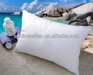 luxury 80% white goose down pillow