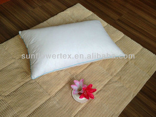 hotel collection 75% white duck down pillow