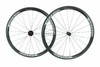 Lightweight Best 700C Road Bike 38mm Clincher Carbon Wheels