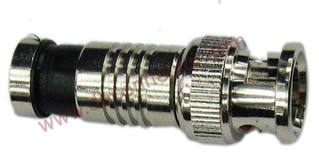 RG6 Rg59 Coaxial Cable Waterproof BNC Connector