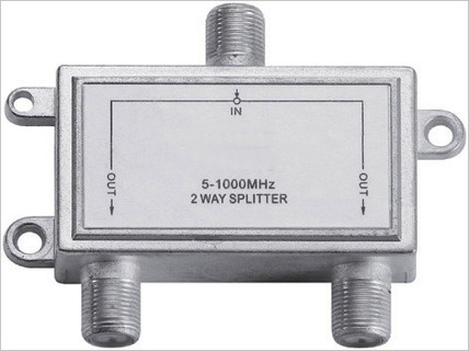 Indoor CATV 2 Way Tap and Splitter