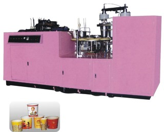 Paper Cup Forming Machine (Single Coated Paper)