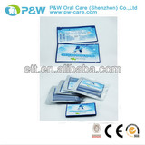2013 Dental Care Finger Brush Teeth Witening Wipes