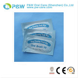 Teeth whitening finger wipes, teeth wipes for clinic and home