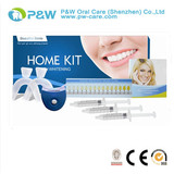 PROFESSIONAL TOOTH WHITENING KIT WITH LASER TEETH WHITE LIGHT AND BLEACHING 3 GEL