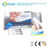New Dental Teeth Whitening Kit For Home White Teeth with Carbamide Peroxide Bleach Light
