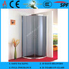 3-19mm Tempered Glass Shower Wall Panels with EN12150-1 & AS/NZS2208:1996
