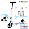 NEW large wheel adults folding kick scooter with suspension