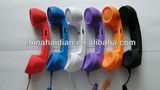 Retro 3.5mm plug Corded Mobile Phone Handset for mobile phone