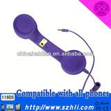 Retro POP Phone handset for all 3.5mm plug mobile phones