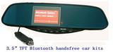 Bluetooth Hands Free Car kit rear view mirror I802B