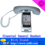 pop retro mobile phone handset with stand 115+
