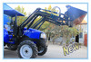 4x4 Compact Tractor with Loader, Wheeled Tractor with Front End Loader and Backhoe Attachment (TZ03D, TZ04D, TZ06D, TZ08D)