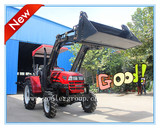 Front End Loader Attached to Farm Tractor (LZ404, TZ04D)