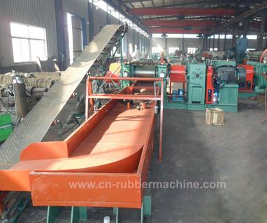 Rubber Crusher (XKP-560) , Rubber Crushing Machine, Tire Crusher