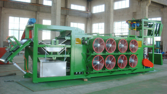 Qingdao Manufactured Batch-off Cooler / Rubber Batch-off Units