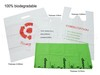 Eco Friendly Hotel Amenities, 100% Biodegradable Shopping Bag, T-Shirt Bag