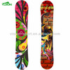 Heat Transfer Silkscrenn Printing Classical Traditional Wooden Snowboard