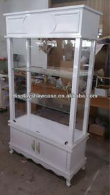 Custom made display showcase for jewelry retail
