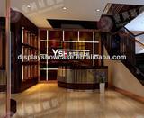 manufacturer of luxury brand jewelry display counter custom made