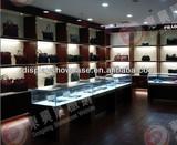 Chain store retail display showcase custom made design