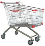 180L supermarket push shopping trolley cart