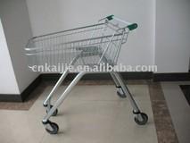 zinc plated mini shopping carts 70L small type