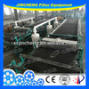 Sludge treatment Vacuum belt filter press