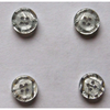 Fashion Polyester Crystal Button