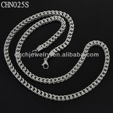 wholesale fashion jewellery stainless steel wire necklace CHN025S