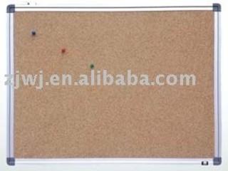 GBB-003 Aluminum frame corkboard in 90*180CM notice board pins