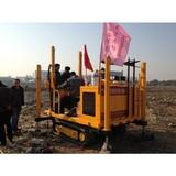 crawler type CPT truck static cone penetrometer