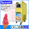 Yellow Single System Ice Cream Machine And Soft Ice Cream Maker
