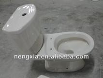 Ivory Ceramic washdown two piece toilet