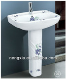 Decoration Pedestal Wash Basin