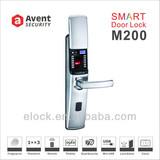 M200 fingerprint digital intelligent door lock with CE certificate
