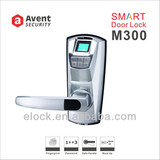 M300 electronic fringerprint secure door lock with password unlock