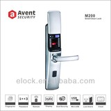 M200 sliding cover fingerprint digital romote control door lock with CE certificate