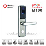 Avent M100 stainless steel fingerprint security door lock