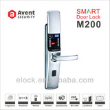 M200 sliding cover fingerprint digital intelligent door lock with CE certificate