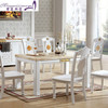 long wooden dining table with good quality