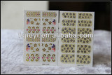 hot stamping minx nail polish stickers patch