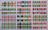 Golden nail stickers&stickers nail artF&glitter nail art stickers