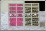 hot stamping stickers nail polish art
