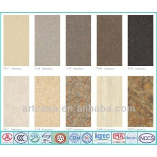 The Matte Mat Surface Stone Design Thin Porcelain Tile