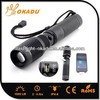 Multifunction USB Rechargeable CREE XML U2 Torch Light